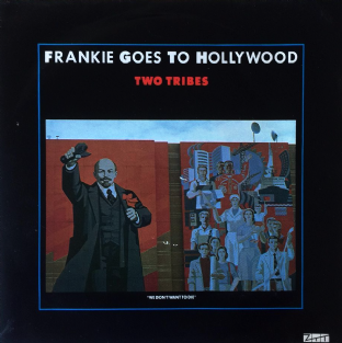 "Frankie Goes To Hollywood ‎- Two Tribes (7"") (VG+/VG) (2)"